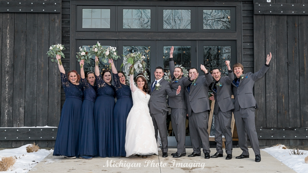 Kim & John's Winter Wedding