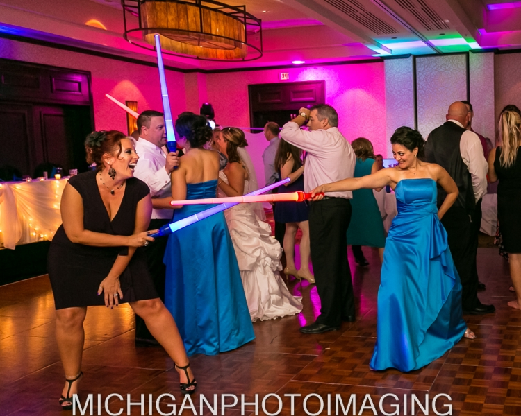 Star Wars Theme Wedding Troy Mi - Michelle and Chris