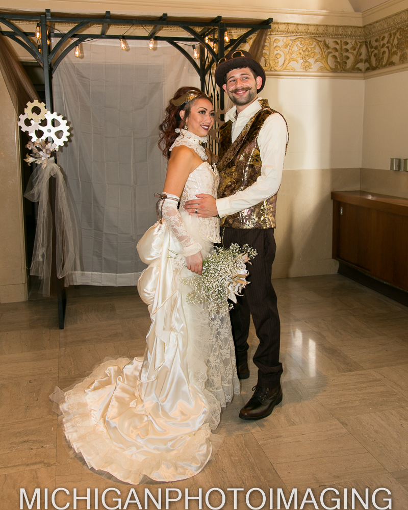 2016 Lee & Emilio Victorian Steam Punk Wedding