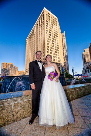 Detroit Bride and Groom